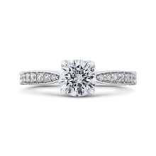 Load image into Gallery viewer, CA0270EH-37W-1.00 Bridal Jewelry Carizza White Gold Round Diamond Engagement Rings