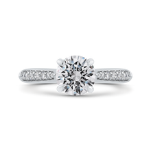 Load image into Gallery viewer, CA0283EH-37W-1.50 Bridal Jewelry Carizza White Gold Round Diamond Engagement Rings