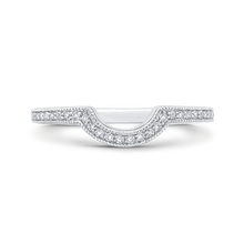 Load image into Gallery viewer, CA0286BH-37W-2.00 Bridal Jewelry Carizza White Gold Round Diamond Wedding Bands