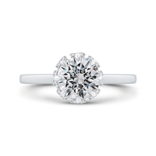 Load image into Gallery viewer, CA0292E-37W-1.50 Bridal Jewelry Carizza White Gold Round Diamond Engagement Rings