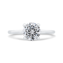 Load image into Gallery viewer, CA0357E-37W-1.50 Bridal Jewelry Carizza White Gold Round Diamond Engagement Rings