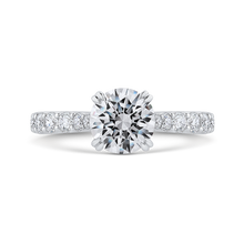 Load image into Gallery viewer, CA0408EH-37W-1.50 Bridal Jewelry Carizza White Gold Round Diamond Engagement Rings