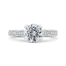 Load image into Gallery viewer, CA0410EH-37W-1.50 Bridal Jewelry Carizza White Gold Round Diamond Engagement Rings