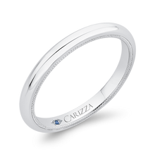 Load image into Gallery viewer, Plain Wedding Band In 14K White Gold