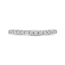 Load image into Gallery viewer, CA0448BH-37W-1.00 Bridal Jewelry Carizza White Gold Round Diamond Wedding Bands