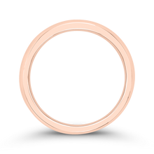 Load image into Gallery viewer, 14K Rose Gold Plain Wedding Band