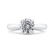 Load image into Gallery viewer, CA0468E-37W-1.50 Bridal Jewelry Carizza White Gold Round Diamond Engagement Rings
