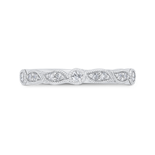 Load image into Gallery viewer, CA0473BH-37W-1.50 Bridal Jewelry Carizza White Gold Diamond Wedding Bands
