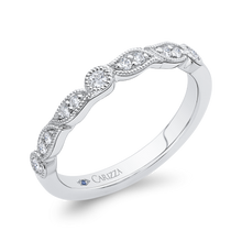 Load image into Gallery viewer, 14K White Gold Diamond Wedding Band