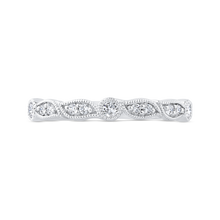 Load image into Gallery viewer, CA0474BH-37W-1.00 Bridal Jewelry Carizza White Gold Diamond Wedding Bands