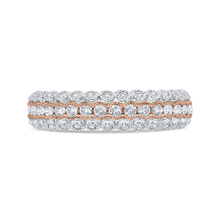 Load image into Gallery viewer, CA0475BH-37WP-1.50 Bridal Jewelry Carizza White Gold,Rose Gold Diamond Wedding Bands