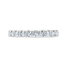 Load image into Gallery viewer, CA0486BH-37W-1.00 Bridal Jewelry Carizza White Gold Diamond Wedding Bands
