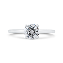 Load image into Gallery viewer, CA0500E-37W-1.00 Bridal Jewelry Carizza White Gold Round Diamond Engagement Rings