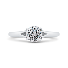 Load image into Gallery viewer, CA0503E-W-1.00 Bridal Jewelry Carizza White Gold Round Solitaire Engagement Rings
