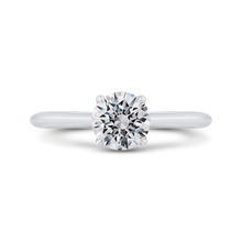 Load image into Gallery viewer, CA0504E-W-1.00 Bridal Jewelry Carizza White Gold Round Solitaire Engagement Rings