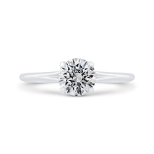 Load image into Gallery viewer, CA0509E-W-1.00 Bridal Jewelry Carizza White Gold Round Solitaire Engagement Rings