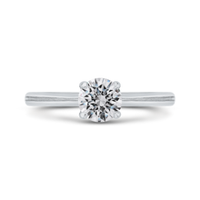 Load image into Gallery viewer, CA0512E-W-1.00 Bridal Jewelry Carizza White Gold Round Solitaire Engagement Rings