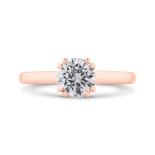 Load image into Gallery viewer, CA0513E-P-1.00 Bridal Jewelry Carizza Rose Gold Round Solitaire Engagement Rings
