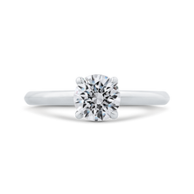 Load image into Gallery viewer, CA0519E-W-1.00 Bridal Jewelry Carizza White Gold Round Solitaire Engagement Rings