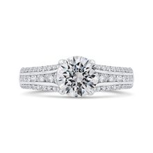 Load image into Gallery viewer, CA0536EH-37W-1.50 Bridal Jewelry Carizza White Gold Round Diamond Engagement Rings