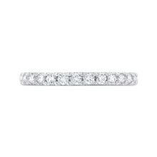 Load image into Gallery viewer, CAA0427BH-37W-1.45 Bridal Jewelry Carizza White Gold Round Diamond Wedding Bands