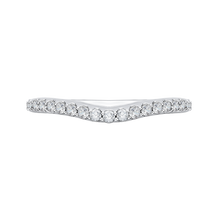 Load image into Gallery viewer, CAE0193BH-37W-1.50 Bridal Jewelry Carizza White Gold Round Diamond Wedding Bands