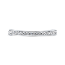 Load image into Gallery viewer, CAE0287BH-37W-2.00 Bridal Jewelry Carizza White Gold Round Diamond Wedding Bands