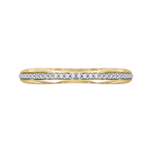 Load image into Gallery viewer, CAO0203B-37WY-1.50 Bridal Jewelry Carizza White Gold Rose Gold Yellow Gold Round Diamond Wedding Bands