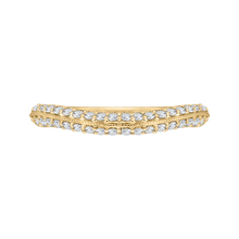 Load image into Gallery viewer, CAO0220B-37-1.50 Bridal Jewelry Carizza Yellow Gold Round Diamond Wedding Bands