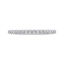 Load image into Gallery viewer, CAO0226B-37W-1.50 Bridal Jewelry Carizza White Gold Round Diamond Wedding Bands