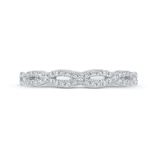 Load image into Gallery viewer, CAO0534BH-37W-1.25 Bridal Jewelry Carizza White Gold Diamond Wedding Bands