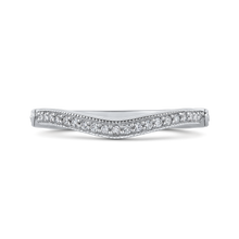 Load image into Gallery viewer, PR0175BH-44W-.75 Bridal Jewelry Carizza White Gold Round Diamond Wedding Bands