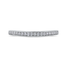 Load image into Gallery viewer, PR0190BH-44W-.50 Bridal Jewelry Carizza White Gold Round Diamond Wedding Bands