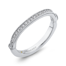 Load image into Gallery viewer, Round Diamond Wedding Band In 14K White Gold