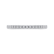 Load image into Gallery viewer, PR0227BH-44W-.50 Bridal Jewelry Carizza White Gold Round Diamond Wedding Bands