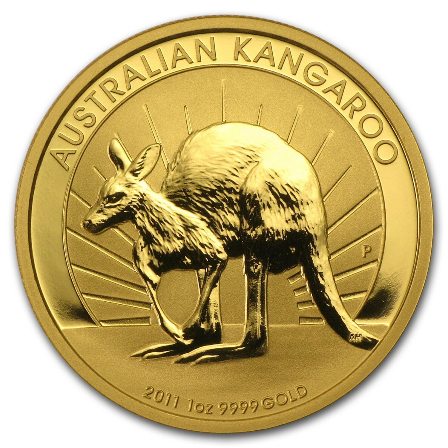 (BUY 2 FREE SHIPPING)2011 Australian Gold Kangaroo Coin
