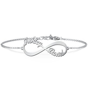 Infinite Love Name Bracelet