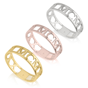 Roman Numeral Ring