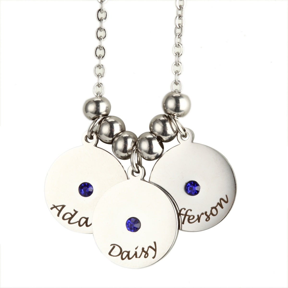 Mother Necklace with Kids Names-Free engraving your kids name