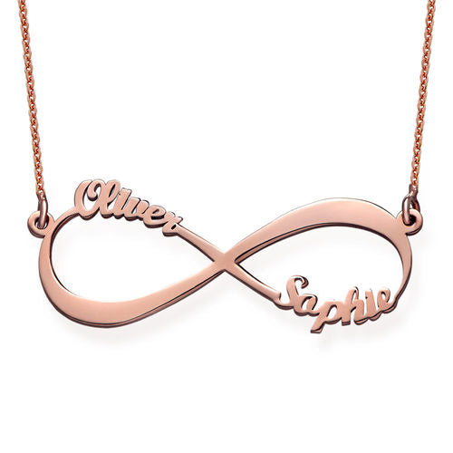 Infinity Name Necklace(1-4 names)