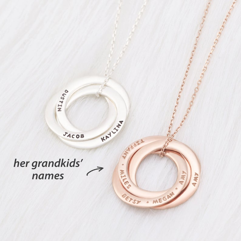 Custom Family Necklace