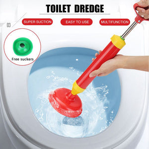 Powerful toilet dredge
