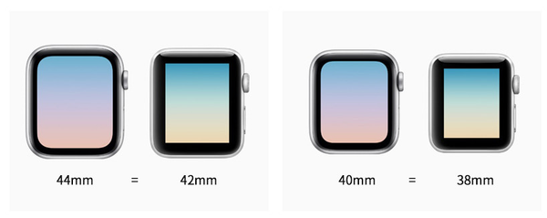 Apple Watch Size Comparison