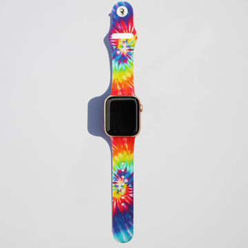 Tie Dye Apple Watch Band - Fireworks - Memebands