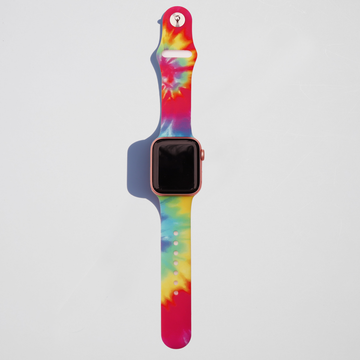 Tie Dye Apple Watch Band - Aurora - Memebands