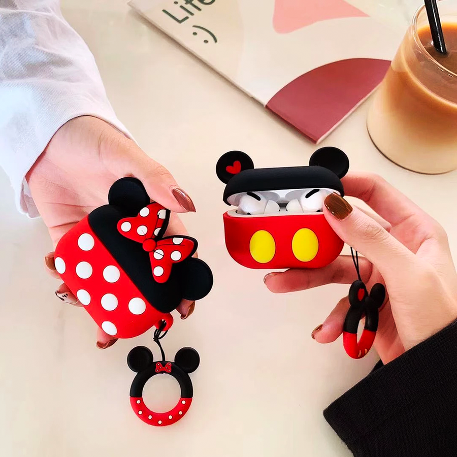 Mickey AirPods Pro Case with Ring - Memebands
