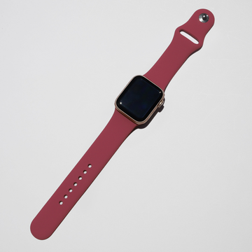 Silicone Apple Watch Band - Wine Red - Memebands
