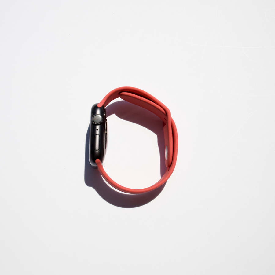 Silicone Apple Watch Band - Grapefruit - Memebands