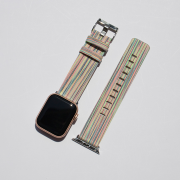 Canvas Apple Watch Band - Colorful - Memebands