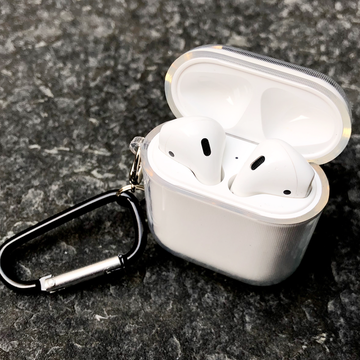 Clear AirPods Case with Ring - Memebands